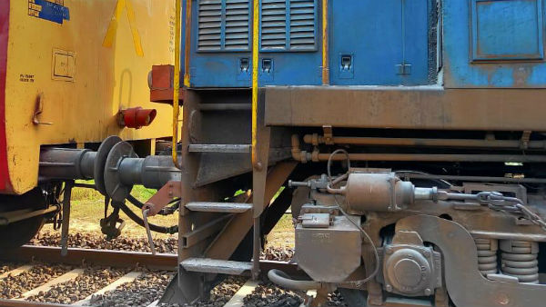 Fire broke out in Rameswaram - Tirupathi train