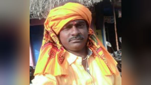 bjp person murdered in trichy market