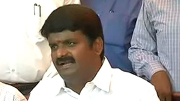 Admk mla blaming government official in front of minister