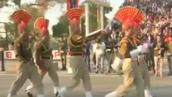 Republic Day 2020: Beating retreat Wagah Ceremony at the Border