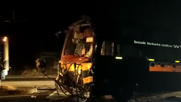 salem bus accident: six nepal tourist killed over two bus collided