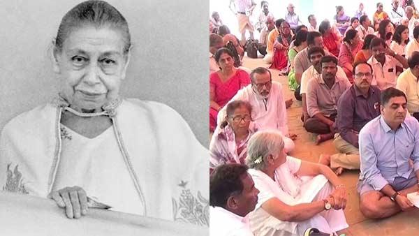 அரவிந்தர் ஆசிரம அன்னையின் 142 வது பிறந்தநாள் கொண்டாட்டம்.. குவிந்த வெளிநாட்டினர்