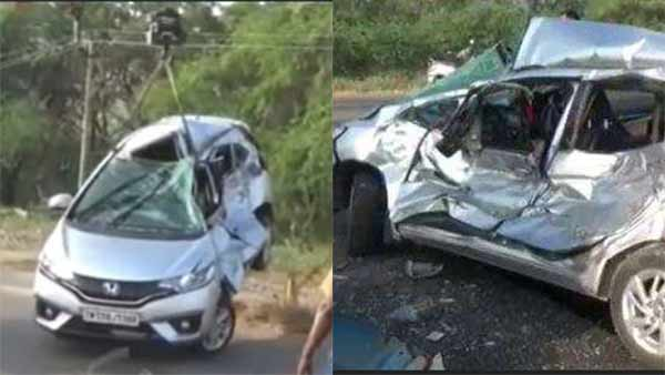 car accident and one died near aruppukkotai