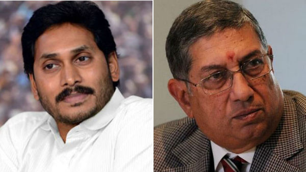 N Srinivasans India Cements made investments into Jagan Mohan Reddys companies: ED