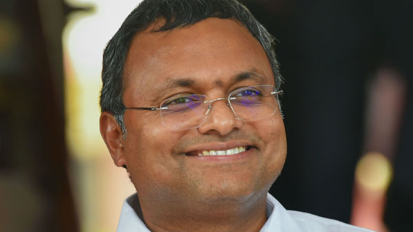 Congress mp Karthi Chidambaram reluctant to talk about Tamil Nadu budget