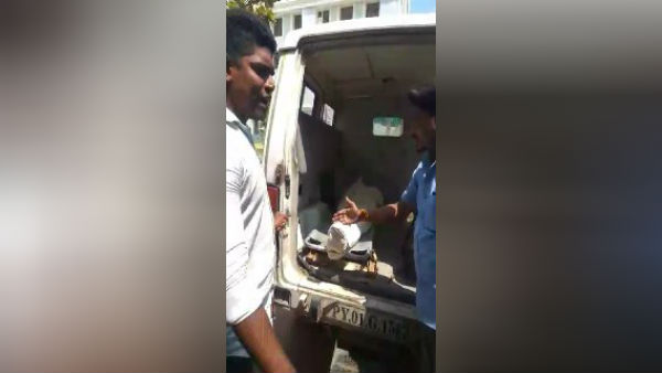Lack of ambulance service at Puducherry Government Hospital