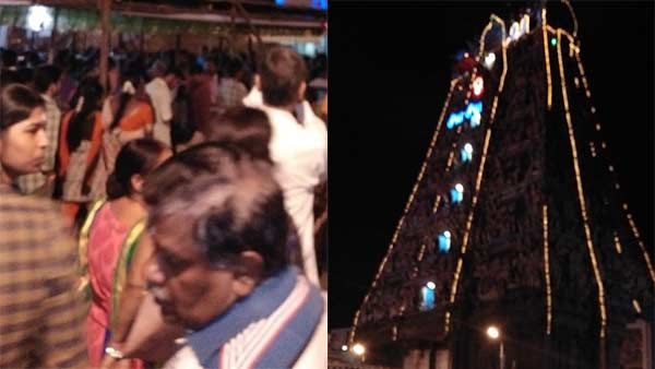 Maha Sivaratri festival was celebrated in all Sivan temples