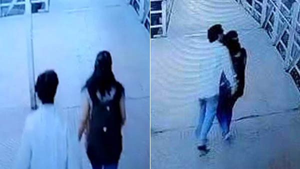 man kissing women and ran away in matunga railway bridge