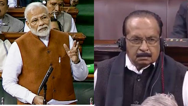 Jammu Kashmir issue: PM Modi slams Vaiko in Rajyasabha