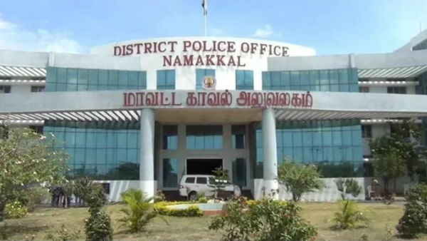 Permission is granted only to employees wearing helmets at Namakkal District Collectors office
