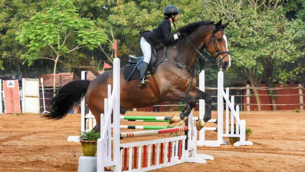 National level Equestrian Challenge competition in Puducherry