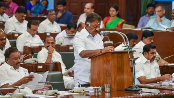 to view the ops budget speech, Large numbers of admk executives from theni came to the assembly