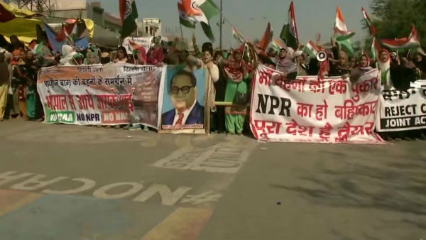 Shaheen Bagh Protesters begin march towards Home Minister Amit Shahs residence