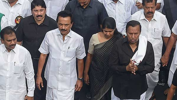 DMK to hold a silent march toward ANNA memorial on his death anniversary
