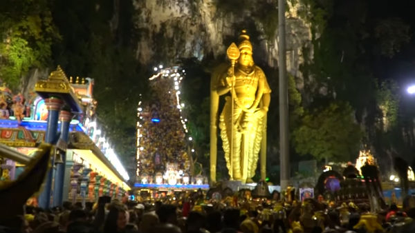 Ten of Thousands of devotees throng Malaysia Batu Caves for Thaipusam