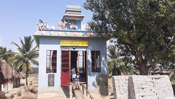 The Shivan Temple on the East Coast Road is being moved by jockeys