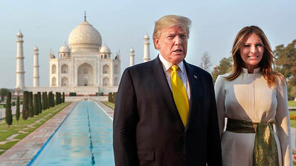 India Gears Up To US President Host Donald Trump
