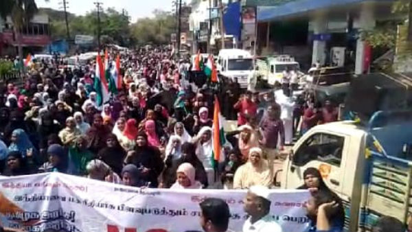 Muslims to continue CAA protest for sixth day in Chennai