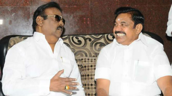 dmdk expects a one rajyasabha seat from the AIADMK