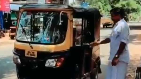 Auto driver asks passenger to wash his hands with soap in Kerala