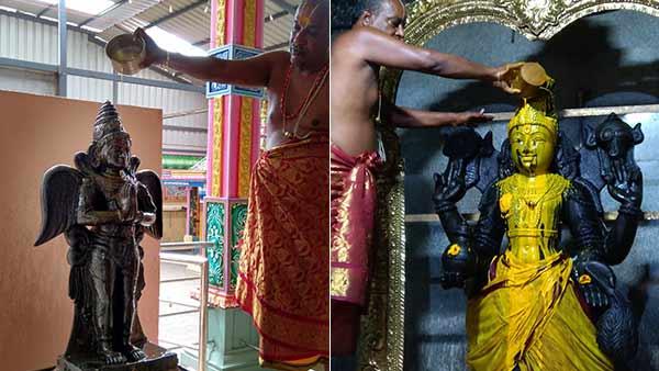 கொரோனா : திருவோணம் முதல் திருவாதிரை வரை தன்வந்திரி பகவானுக்கு சிறப்பு அபிஷேகம்
