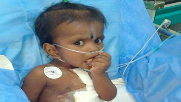 Help to save 1 year old Vinayakamurthi from heart problem
