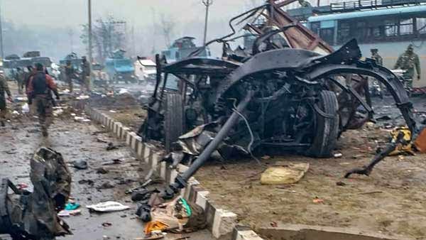 NIA arrests father-daughter duo in Pulwama attack
