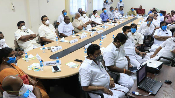 Puducherry state chief Minister V.Narayanasamy Press conference regarding Coronavirus