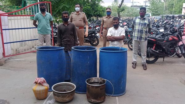 alcoholism hunt : 82 people arrested in Trichy district