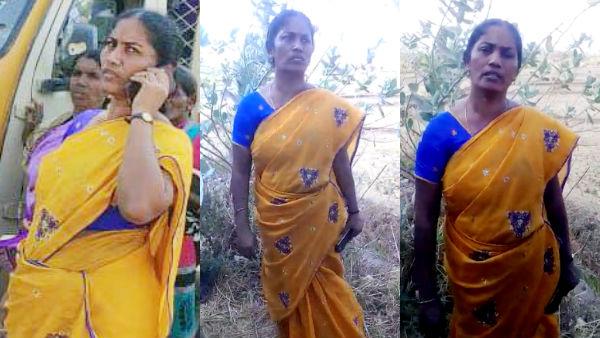 ஜெபக்கூட்டம் நடத்துவதற்காகவே குட்டியானையில் வலம் வந்துள்ளார் ராணி.. Lady67-1586167119