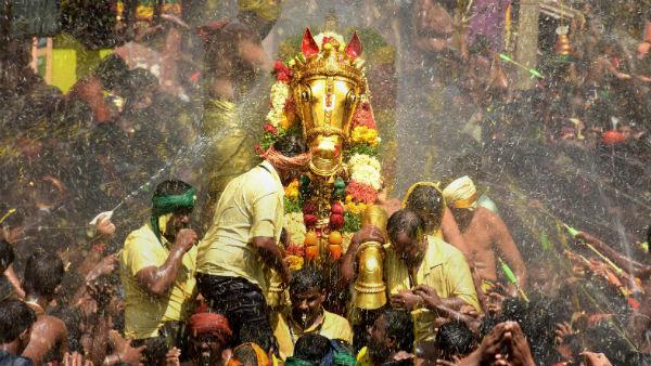 மதுரையில் கள்ளழகர் ஆற்றில் இறங்கும் வைபவம் ரத்து.. பக்தர்கள் ஏமாற்றம்
