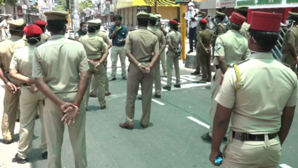 In Puducherry, 21 policemen have been advised not to work