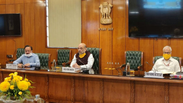 Lockdown 5.0: Amit Shah talks with state chief ministers