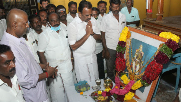 AMMK condolences for Singampatti Zamin death