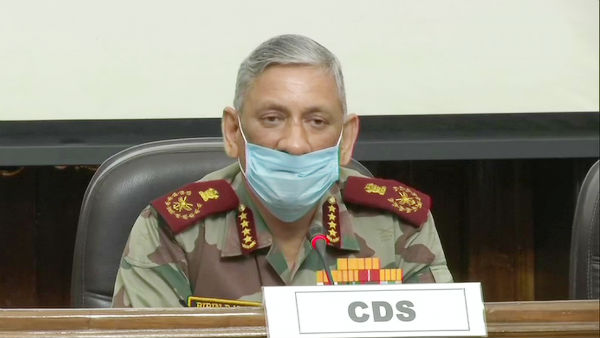 Chief of Defence Staff General Bipin Rawat and three service chiefs to hold press meet