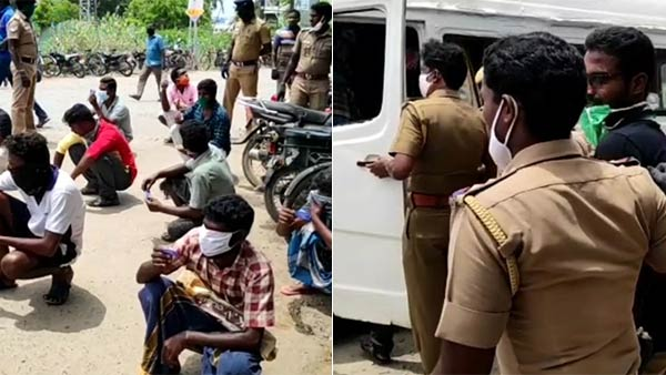 டாஸ்மாக் டோக்கனை ஜெராக்ஸ் எடுத்த குடிகாரர்கள்.. 200 ரூபாய்க்கு விற்பனை.. 16 பேர் கைது