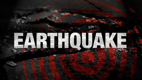 An earthquake of magnitude 5.5 on the Richter scale struck Manipur