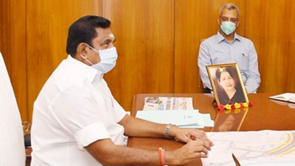 tomorrow CM Palanisamy consulted with the medical team on covid 19 prevention