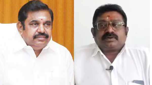 edappadi palanisami condoles the death of Arumugan Thondaman