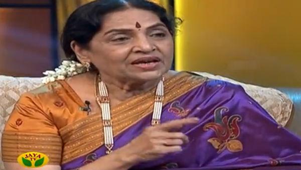 ரோஜா மலரே ராஜகுமாரி... ஆசைக்கிளியே அழகிய சச்சு!