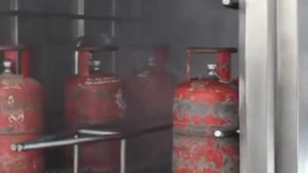Gas cylinders are being cleaned by disinfectants 4 times a day, says IOC.