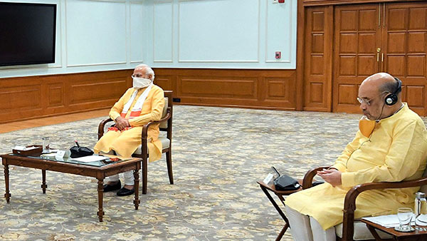 PM Modi meeting with Amit shah about Lockdown extend
