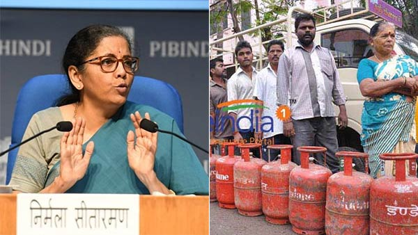 FM Nirmala Sitharaman says 6.81 crore people free LPG cylinders