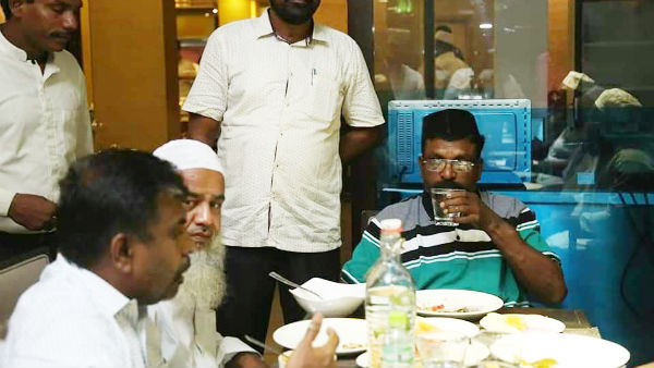 vck president thirumavalavan who observes fasting for 16 years during Ramadan