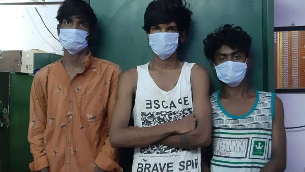 வியாசர்பாடி மளிகைக் கடை கொள்ளை வழக்கு.. 7 மாதங்களுக்கு பிறகு 3 பேர் கைது.. 18 பவுன் பறிமுதல்