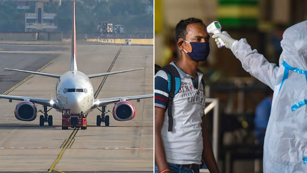 No corona for 103 passengers who evacuated from Kuwait to Trichy