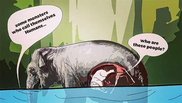 Kerala Elephant: அம்மா.. என்னாச்சும்மா? பேசுங்கம்மா, எனக்கு மூச்சு விடமுடியலம்மா.. கதறல் கேட்கிறதா?