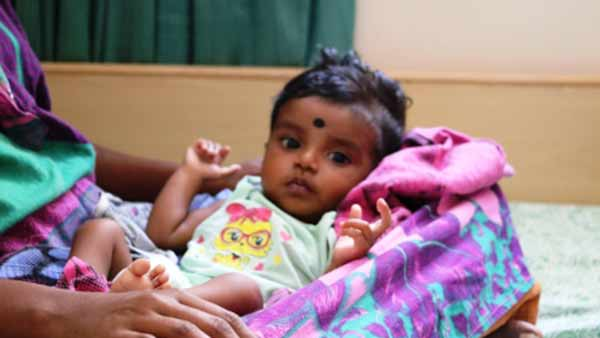 Help 6 month old baby of Anandavalli heart operation