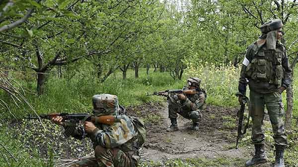 Two unidentified terrorists killed. Search operation underway: Jammu & Kashmir Police
