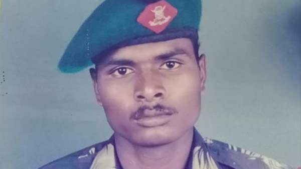 Tamilnadu army man Mathiyazhagan cremated today with full state honors